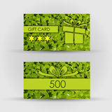 Beautiful gift card,  illustration. Royalty Free Stock Photography