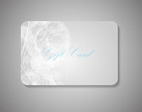 Beautiful Gift Card. Vector Illustration Stock Image