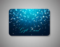 Beautiful Gift Card. Vector Illustration Royalty Free Stock Image