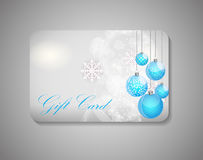 Beautiful Gift Card. Vector Illustration Stock Photos