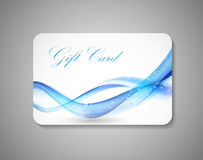 Beautiful Gift Card. Vector Illustration Royalty Free Stock Photography