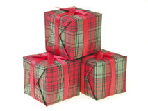 Beautiful gift stack Royalty Free Stock Photography