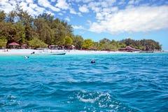 Beautiful Gili Meno in Indonesia. Asia Royalty Free Stock Photo