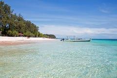 Beautiful Gili Meno in Indonesia. Asia Stock Photo