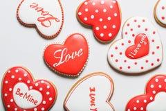 Beautiful gingerbread heart Stock Photo