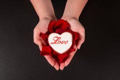 Beautiful gingerbread heart Royalty Free Stock Image
