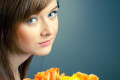 Beautiful girl Stock Image