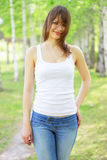 Beautiful girl Stock Images