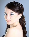 A beautiful girl .  Stock Photo