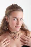 The beautiful girl Stock Photography