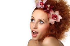 Beautiful girl with Stock Photos