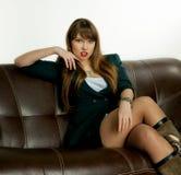 The beautiful girl Royalty Free Stock Photos