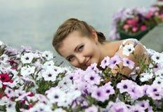 The beautiful girl Royalty Free Stock Image