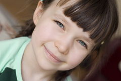 Beautiful girl. Happy young girl royalty free stock photos