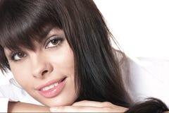 Beautiful girl. The beautiful girl close up Stock Photography