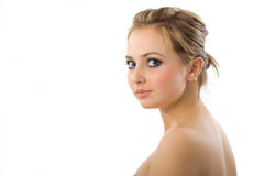 Beautiful girl. Royalty Free Stock Image