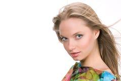 The beautiful girl Stock Photos