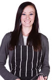 Beautiful Girl with an Apron Stock Images