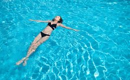 Beautiful girl as a concept and idea of relax time royalty free stock photography