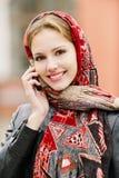Beautiful girl in autumn Royalty Free Stock Photo