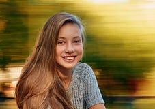 Beautiful girl in autumn Royalty Free Stock Image