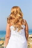 Beautiful Girl at beach Stock Photos