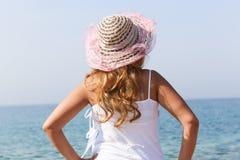 Beautiful Girl at beach Royalty Free Stock Images