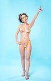 Beautiful girl in bikini Royalty Free Stock Images