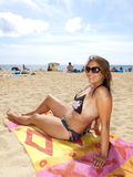 Beautiful girl in bikini Royalty Free Stock Image