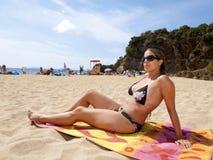 Beautiful girl in bikini Stock Image