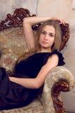 Beautiful girl blonde Royalty Free Stock Photos