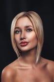 Beautiful Girl Blonde   Stock Photo