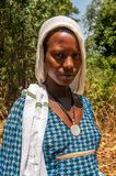 Beautiful girl from Blue Nile Stock Photos