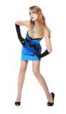 Beautiful girl with bodyart Stock Image