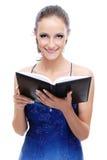 Beautiful girl with book Stock Photos