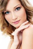 Beautiful girl with clean and perfect skin Royalty Free Stock Photos