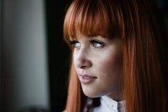 Beautiful girl close up Stock Images