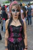 Beautiful girl in costumes in Zombie Walk Sao Paulo Stock Photos