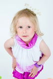 Beautiful girl in a crown Royalty Free Stock Photography
