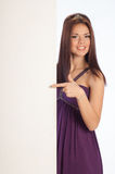 Beautiful girl in a dress Royalty Free Stock Image