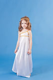 Beautiful girl in the dress of the goddess Royalty Free Stock Photos