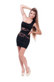 Beautiful girl in a dress. Royalty Free Stock Image