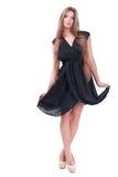 Beautiful girl in a dress. Stock Photo