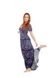 Beautiful girl with dress Stock Photo