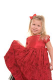 Beautiful girl dressed for Christmas Royalty Free Stock Photos