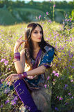 Beautiful girl eastern royalty free stock photo