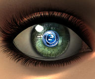 Beautiful girl eye Royalty Free Stock Image