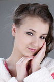 Beautiful Girl Face Royalty Free Stock Photo
