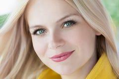 Beautiful girl face Stock Images