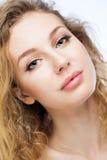 Beautiful girl face Stock Photos